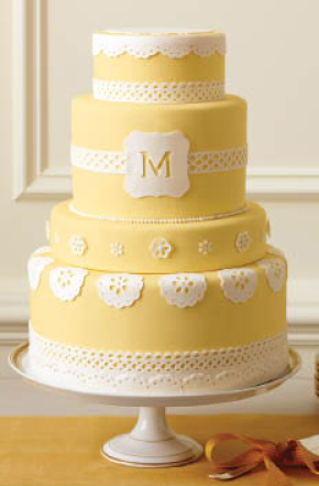 Perfect cake for Mom via @marthastewart