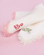 DIY Hanky Embroidery