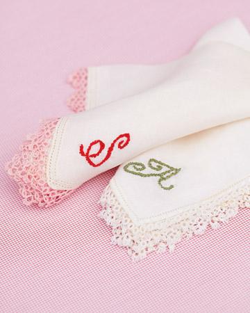 DIY Hanky Embroidery